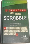 Dictionnaire officiel du jeu de Scrabble